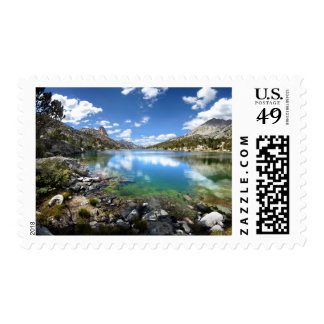 Fin Dome over Middle Rae Lake 2 - John Muir Trail Postage