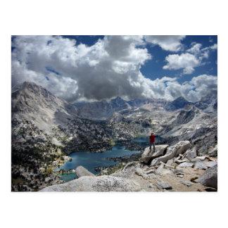 Fin Dome Over Rae lakes - John Muir Trail Postcard