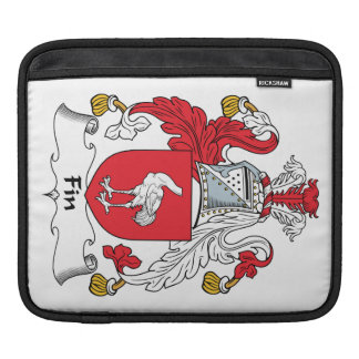 Fin Family Crest Sleeve For iPads