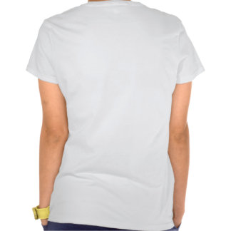 Fin Fan Back Fitted Spaghetti Top Tee Shirts