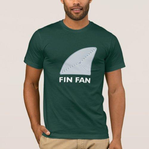 Fin Fan Dark American Apparel T_Shirt