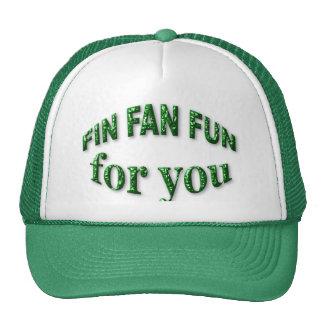 Fin Fan Fun for You Mesh Hats