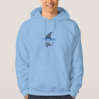 fin hooded sweatshirt
