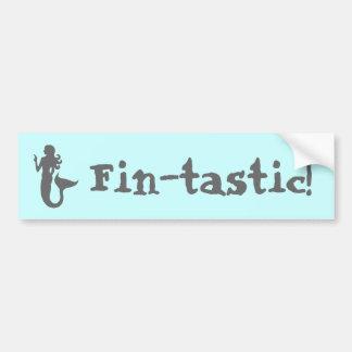 Fin-tastic! Bumper Sticker