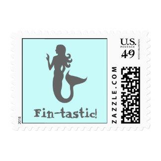 Fin-tastic! Postage Stamp