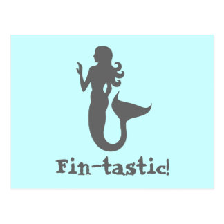 Fin-tastic! Postcard