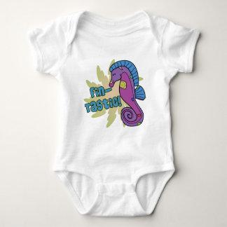 Fin-Tastic Seahorse Baby Creeper