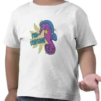 Fin-Tastic Seahorse Toddler Ringer T-Shirt