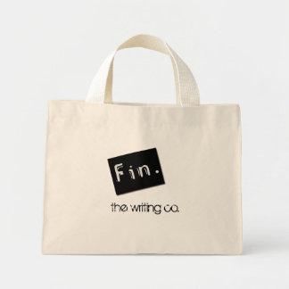 Fin., the writing co. mini tote bag