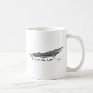 Fin whale coffee mug