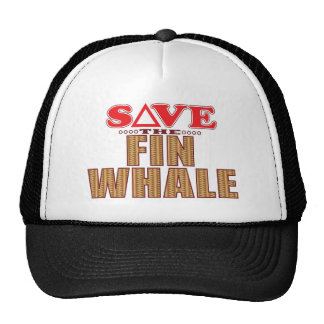 Fin Whale Save Trucker Hat