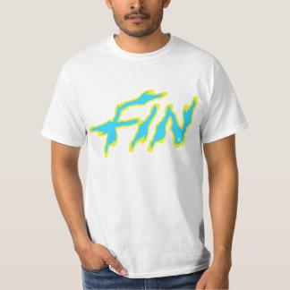 Fin yellow & blue T-Shirt