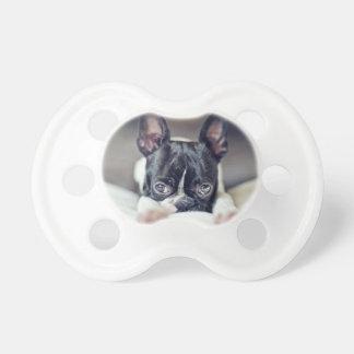 Fina la Boston Terrier Chupetes Para Bebés