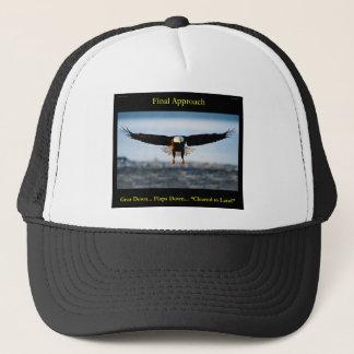 """""""Final Approach"""" Bald Eagle Trucker Hat"""