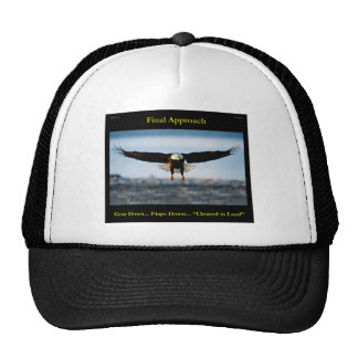 """Final Approach"" Bald Eagle Trucker Hat"