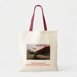 Final Approach: The Amelia Earhart Musical ptote Tote Bag