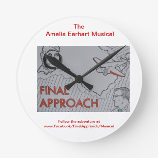 Final Approach: The Amelia Earhart Musical Round Clock
