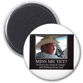 Final-BUSH-HAT.Miss-Meai 2 Inch Round Magnet