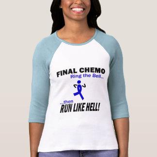 Final Chemo Run Like Hell - Colon Cancer Tees