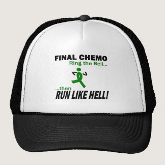 Final Chemo Run Like Hell - Kidney Cancer Trucker Hat