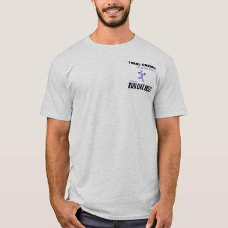 Final Chemo Run Like Hell - Lavender Ribbon T-Shirt