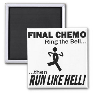 Final Chemo Run Like Hell - Melanoma Magnet