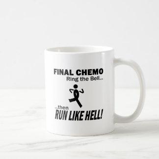 Final Chemo Run Like Hell - Melanoma Mug