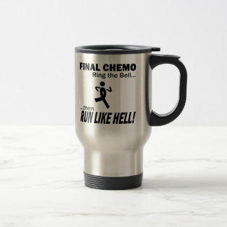 Final Chemo Run Like Hell - Melanoma Mugs