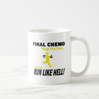 Final Chemo Run Like Hell - Testicular Cancer Mug