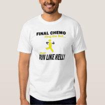 Final Chemo Run Like Hell - Testicular Cancer Shirt