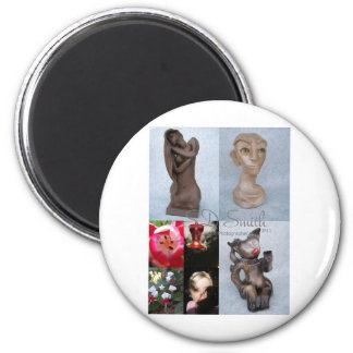 FINAL collage 2 Inch Round Magnet