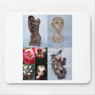 FINAL collage Mouse Pad