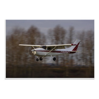 Final corto de Cessna 172 Posters
