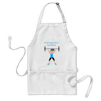 ****final DarZee png The Only Weight That Matters. Adult Apron