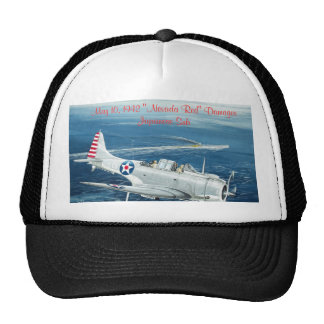 "Final Dauntless, May 10, 1942 ""Nevada Red"" Dama... Trucker Hat"
