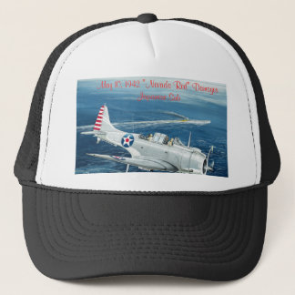 "Final Dauntless, May 10, 1942 ""Nevada Red"" Dama... Trucker Hat"