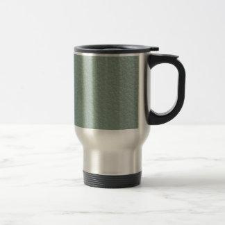 Final de cuero gris verdoso de la mirada taza de café