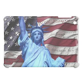 final de la bandera y de la estatua del caso del i