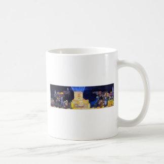 Final de la oscuridad taza de café