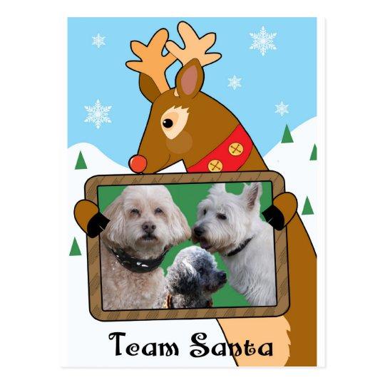 final de la tarjeta de Navidad de Debra Postales
