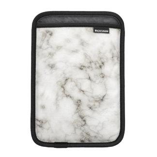 final de piedra de marfil del ébano de mármol fundas para iPad mini