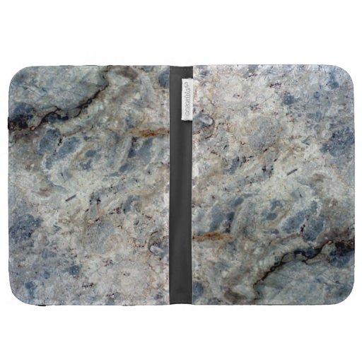 Final de piedra de mármol blanco de los azules cla
