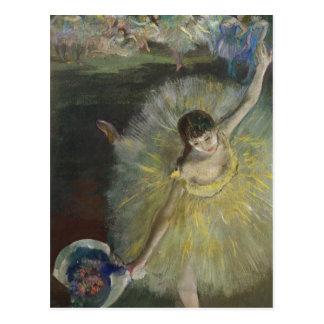 Final de un Arabesque, 1877 de Edgar Degas el | Postales