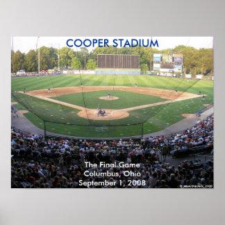 Final del Cooper Stadium Impresiones