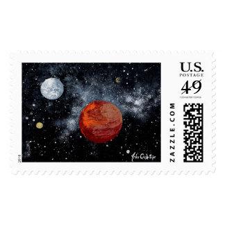 ~ FINAL del diseño de espacio de las FRONTERAS 1 Timbres Postales