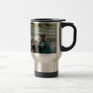 Final del fin de semana largo tazas de café