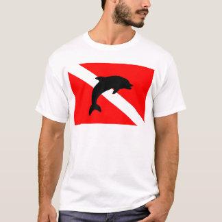 final Dive Flag Porpoise T-Shirt