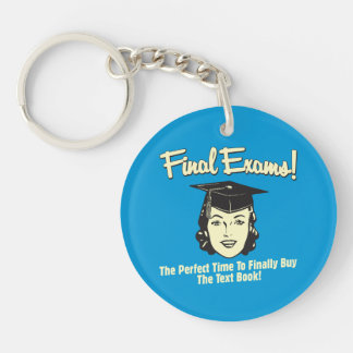 Final Exams: Finally Buy the Text Book Keychain