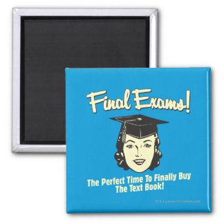 Final Exams: Finally Buy the Text Book Magnet