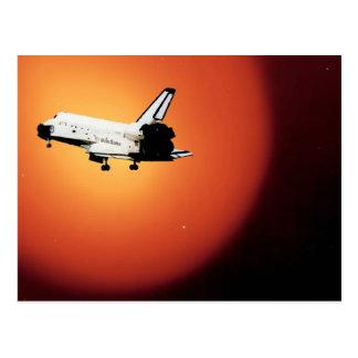 Final Flight Nasa Space Shuttle Program Postcard